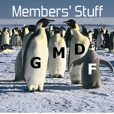 Penguins GMDF family members stuff