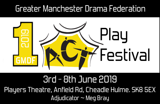 2019 GMDF One Act Play Festival Email Header