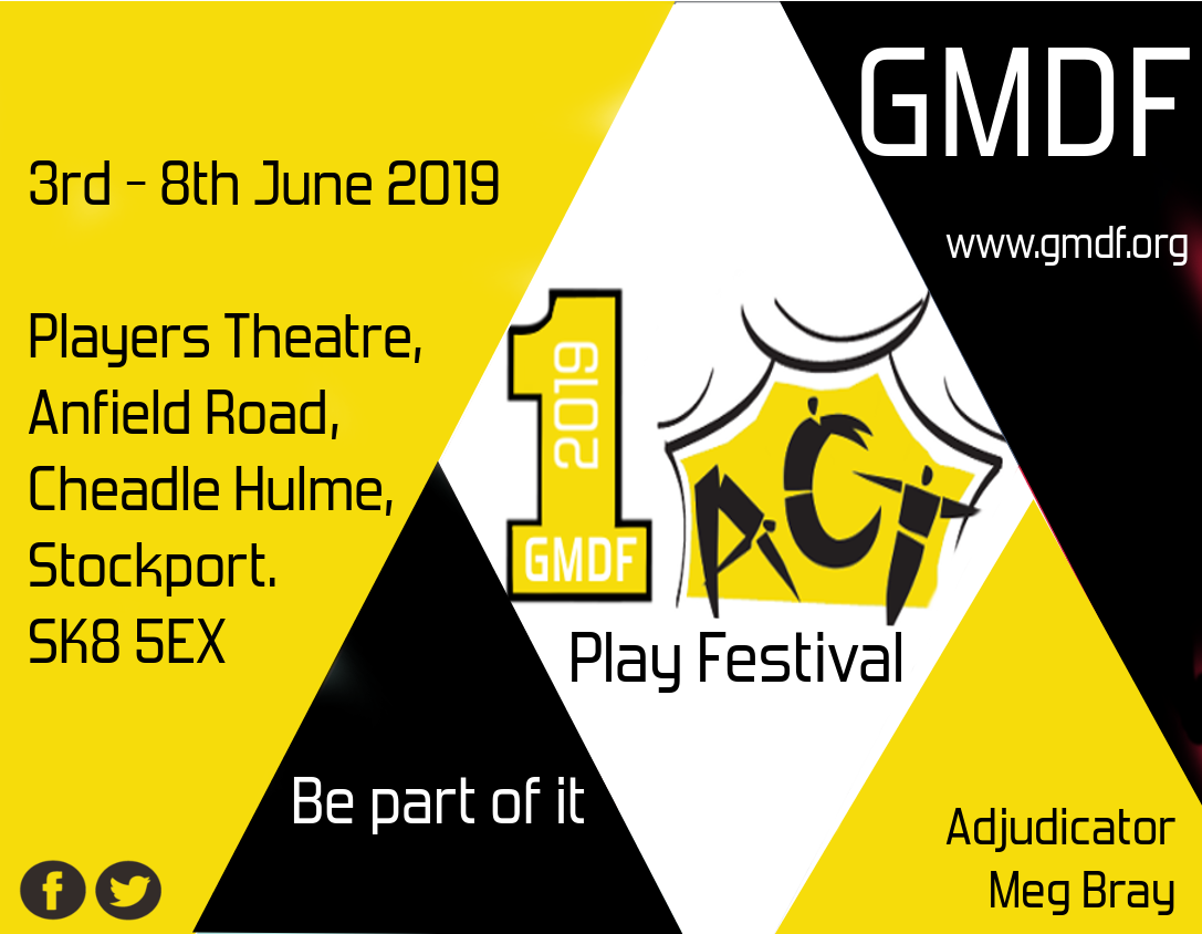 GMDF 2019 One Act Play Festival Poster