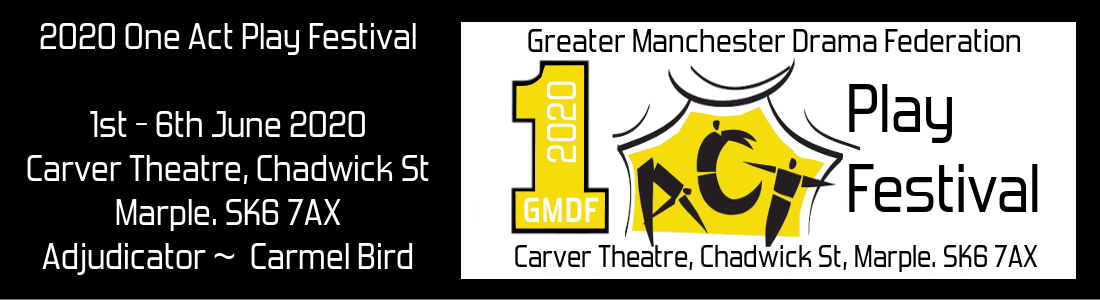 2020 GMDF One Act Web Header