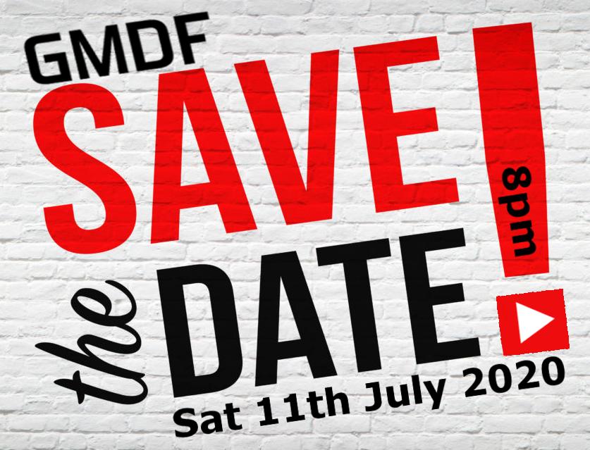 Save the date GMDF Awards Night 2020