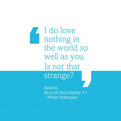 Much Ado Quote